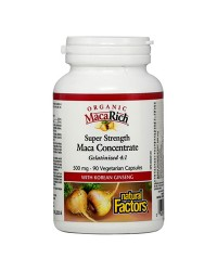 Мака концентрат 500mg Natural Factors