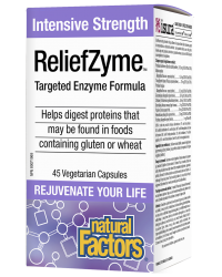 ReliefZyme™ ЕНЗИМНА ФОРМУЛА 295 mg Natural Factors