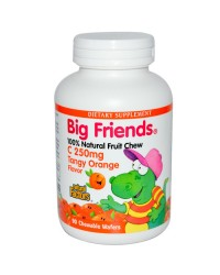 Витамин С Big Friends (портокал) за деца 250 mg