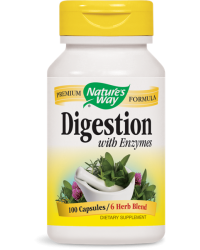 Digestion with Enzymes 450 mg Nature's Way