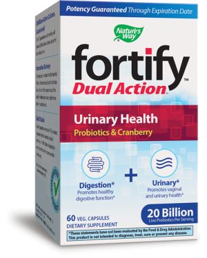 FORTIFY™ DUAL ACTION™ УРИНАРНО ЗДРАВЕ Nature's Way